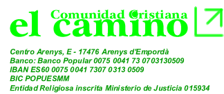 Comunidad Cristiana El Camino