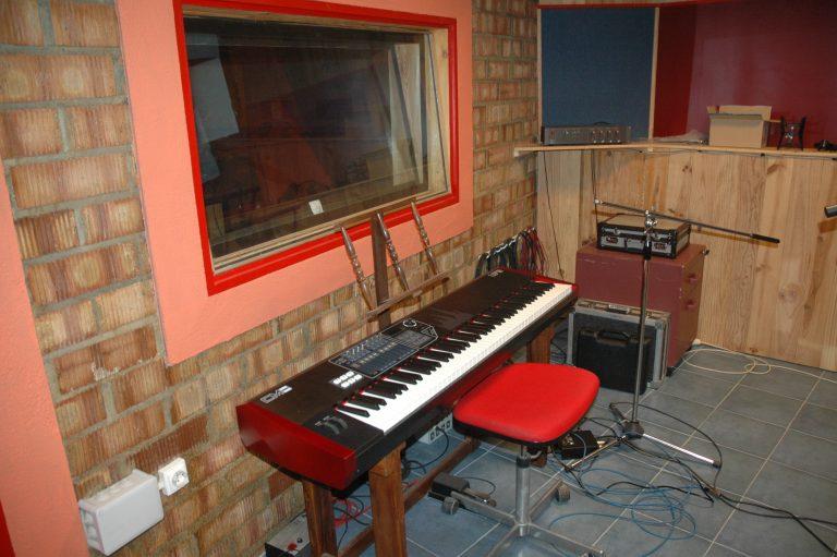 Vista parcial zona sala grabación