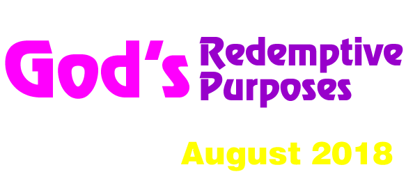 God's Redemptive Purposes